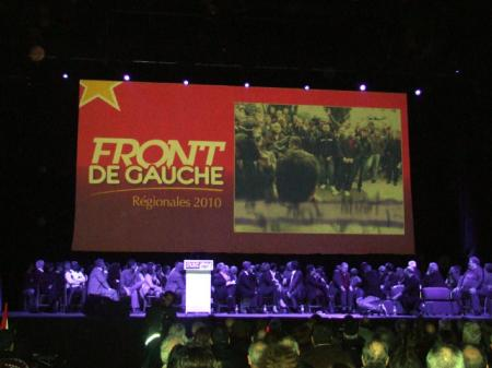Grand meeting du Front de Gauche à Marseille